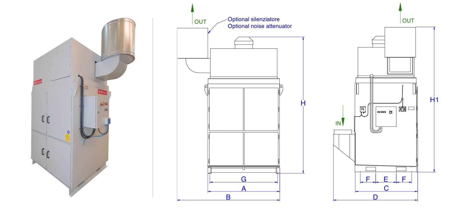 AR Filtrazioni   Serie di produzione AR 10000
