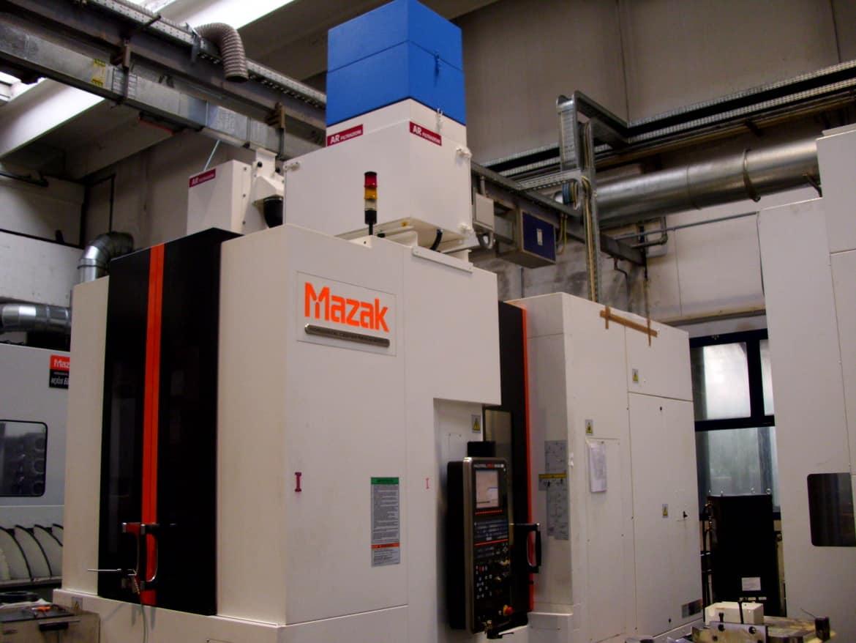 AR Filtrazioni Case History Portfolio Filtrazione Nebbie Oleose Mazak