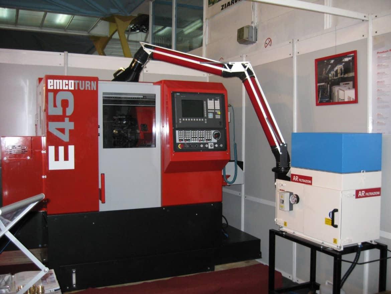 AR Filtrazioni Case History Portfolio Filtrazione Nebbie Oleose EMCO