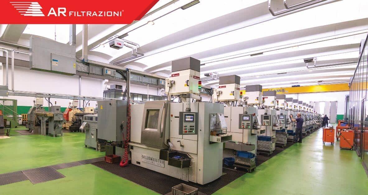 AR Filtrazioni Case History Portfolio Filtrazione Nebbie Oleose Video Erba S.p.a.