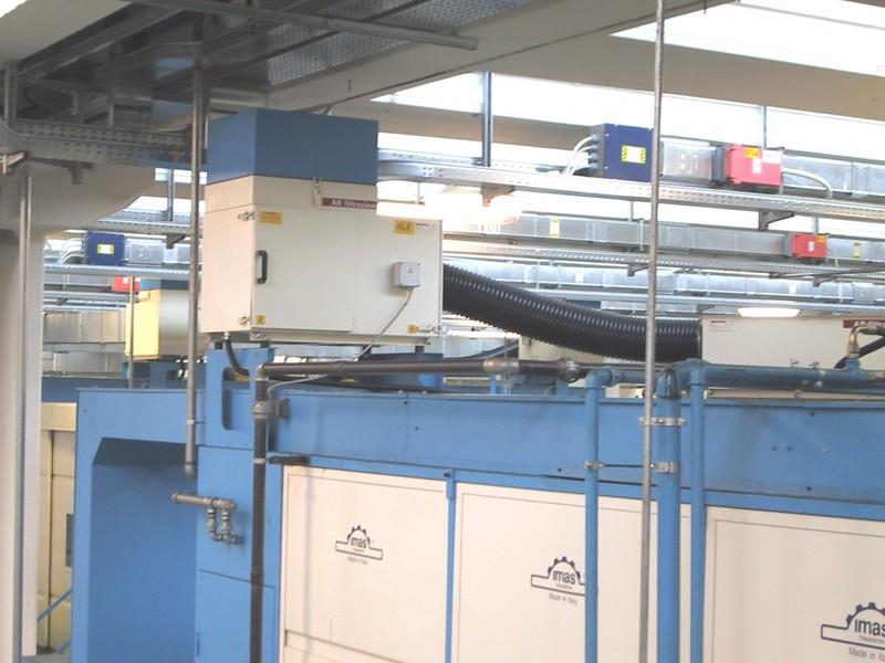 AR Filtrazioni   Filtri per nebbie oleose per transfer IMAS
